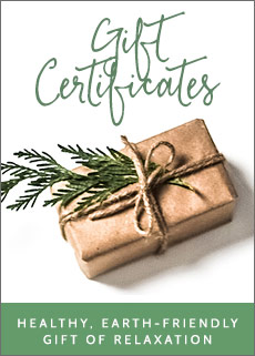 Reflexology Gift Certificates - Birthdays, Holidays, Christmas, Mothers Day, etc
