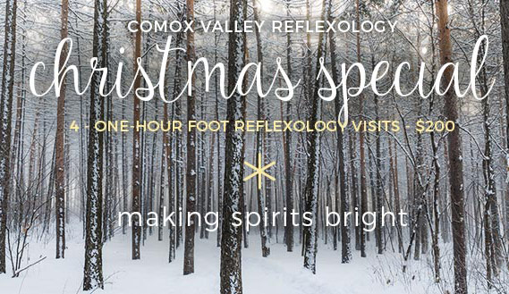 Christmas Special Offer 2017 - ox Valley Reflexology - Courtenay, BC